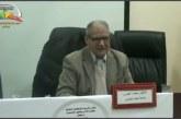 محاضرة البلاغي المغربي الدكتور محمد العمري بكلية الآداب بمراكش.