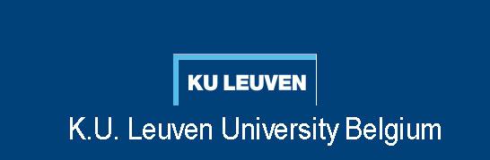 K.U. Leuven University Belgium